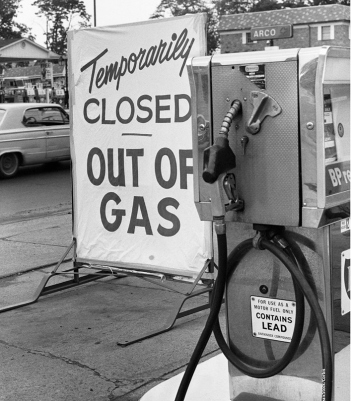 Crisi petrolifera del '73 (Corbis)
